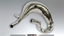 DEP EXHAUST PIPE NICKEL KTM SX65 2009-15